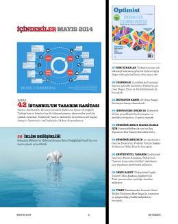 Mayıs 2014 - Optimist Dergi