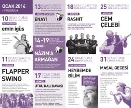 konser - Nazım Hikmet Kültür Merkezi
