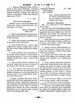 M. Meclisi B : 1 3.9.1962 0:1 338