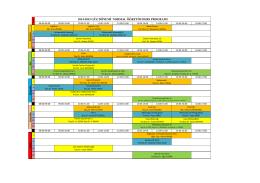 2014-2015 güz dönemi normal öğretim ders