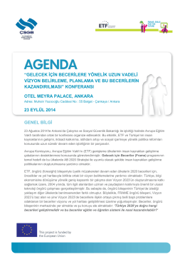 Final agenda 23 Sep TR