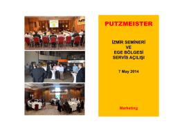 web - izmir semineri ve servis açılışı 7 May 2014