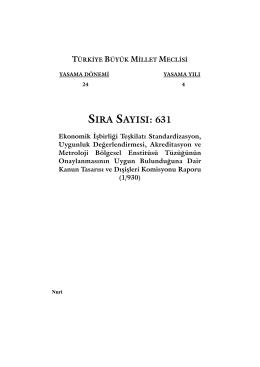 631 - Türkiye Büyük Millet Meclisi