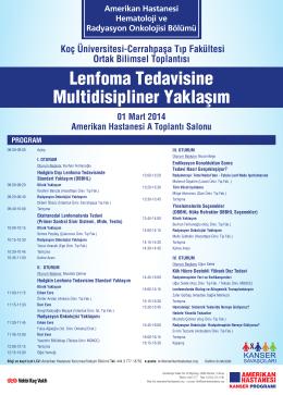 Koç Üniversitesi-Cerrahpaşa Tıp Fakültesi Ortak Bilimsel Toplantısı