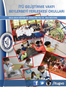 veli bülteni-31 - İTÜ Geliştirme Vakfı Okulları