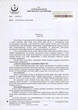 buradan - Adana İl Sağlık Müdürlüğü