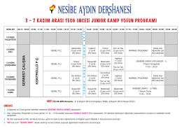 normal program