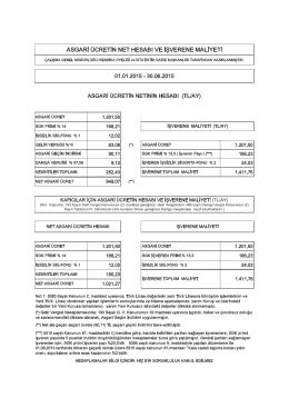 sg$ri ücretin net hes$bı ve işverene m$liyeti
