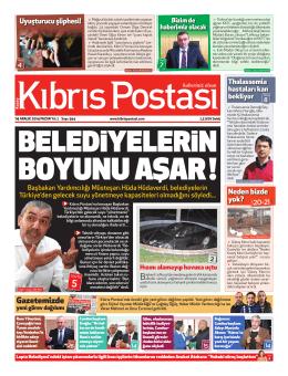 Gazetemizde - Kıbrıs Postası