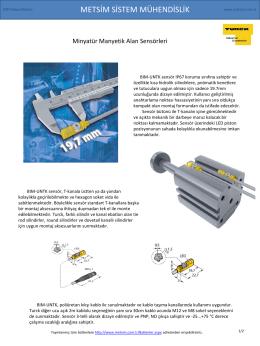 2014 Mayıs Bülteni - Metsim Sistem Mühendislik