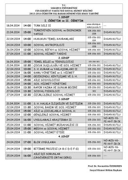 VİZE SINAVI-2013-2014 BAHAR