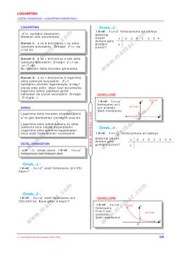 Logaritma 1.Bölüm - 11.sınıf mat çözüm videoları
