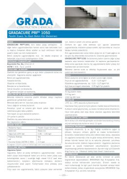 GRADACURE PRF® 1050
