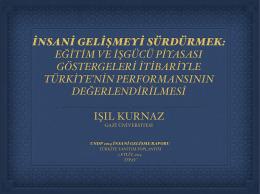 Isil Kurnaz in Sunumu