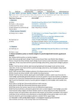4.1. İhaleye - Adana İl Sağlık Müdürlüğü
