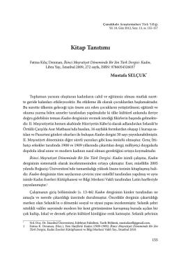 Fatma Kılıç Denman, İkinci Meşrutiyet Döneminde Bir Jön Türk