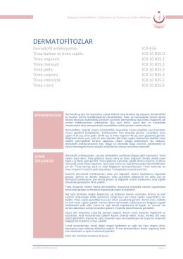Dermatofitozlar