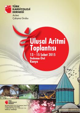 Aritmi 2015 flyer_revize - Türk Kardiyoloji Derneği