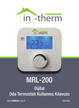 MRL-200 - Oda Termostatı