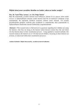 Dijital okuryazarlık .pages - Inet-tr