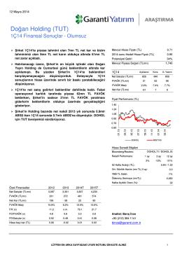 Doğan Holding (TUT)