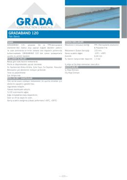 GRADABAND 120