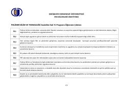 YL - Eskişehir Osmangazi Üniversitesi Fen Bilimleri Enstitüsü