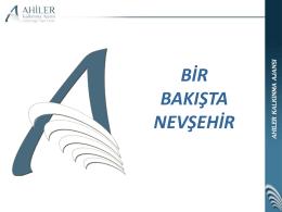 Bir Bakışta Nevşehir