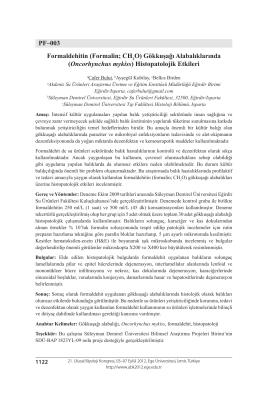 Gökkuşağı Alabalıklarında (Oncorhynchus mykiss)