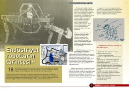 Endüstriyel robotların tarihçesi (*)
