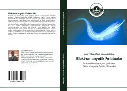Elektromanyetik Fırlatıcılar - Çankırı Karatekin Üniversitesi