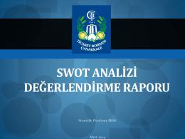 swot analizi değerlendirme raporu