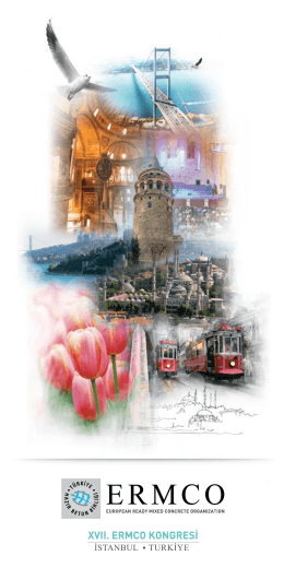 ERMCO 2015 Kongresi Türkçe broşürü için buraya tıklayınız