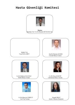 Hasta Güvenliği Komitesi