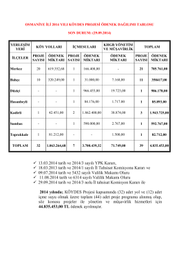 13.03.2014 tarih ve 2014/3 sayılı YPK Kararı, 18.03.2013 tarih ve