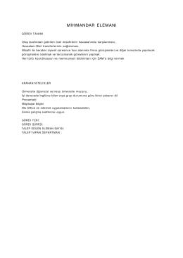 izfaş yarı zamanlı personel talebi (25.11.2014)