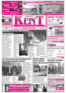 30 Ocak 2015 Cuma.cdr - Ödemiş Kent Gazetesi
