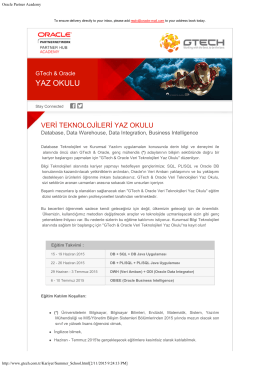 Oracle Partner Academy