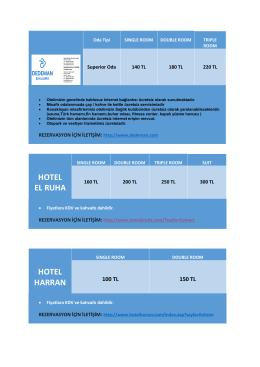HOTEL EL RUHA HOTEL HARRAN