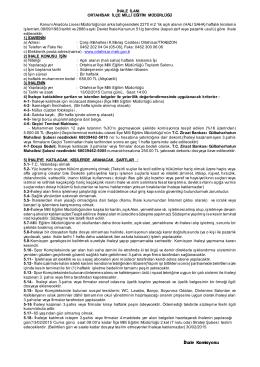 Kanuni Anadolu Lisesi Açık Alan(Halı Saha)
