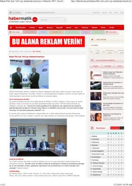 Bakan Fikri Işık: Yerli çip imalatında kararlıyız | Haberler NET | Son D