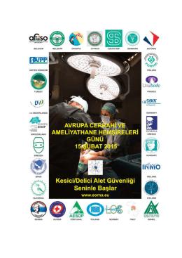 Untitled - Türk Cerrahi ve Ameliyathane Hemşireleri Derneği