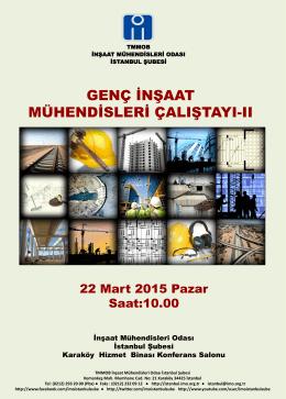 çalıştay programı - İstanbul