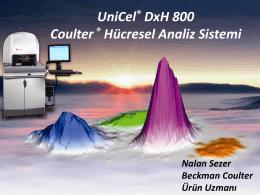 UniCel® DxH 800 Coulter® Hücresel Analiz Sistemi