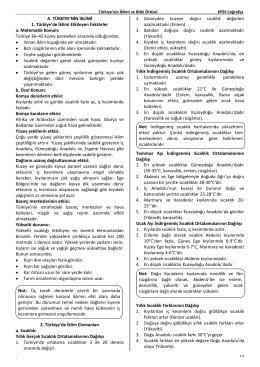 dergi türkiye iklimi sayı 12