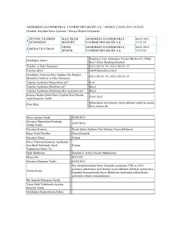 151. Şirketimize özel denetçi tayin edilmesi talebi ile açılan dava