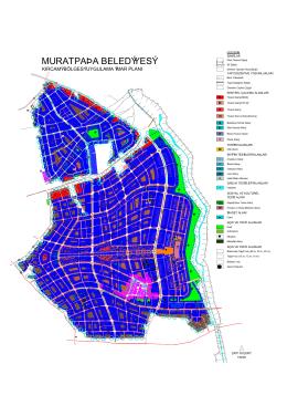 Kırcami Bölgesi 1/1000 ölçekli imar planı
