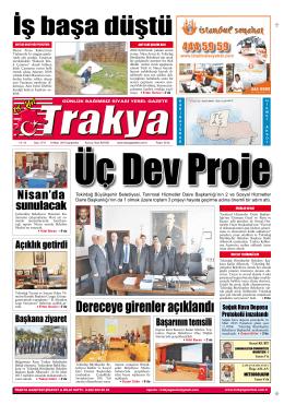 e`yi seçtiler - Trakya Gazetesi