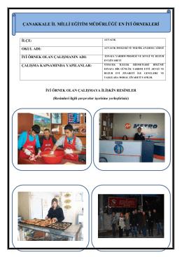 Esnafa Yardım Projesi -Sevgi ve Huzur Evi Ziyareti Projesi