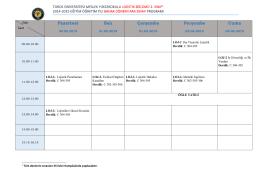lojistik ıı - Toros Üniversitesi